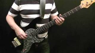 How To Play Bass Guitar To Master Blaster Part 1 - Stevie Wonder - Nathan Watts