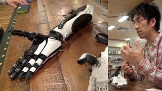3D printed robotic arm handiii