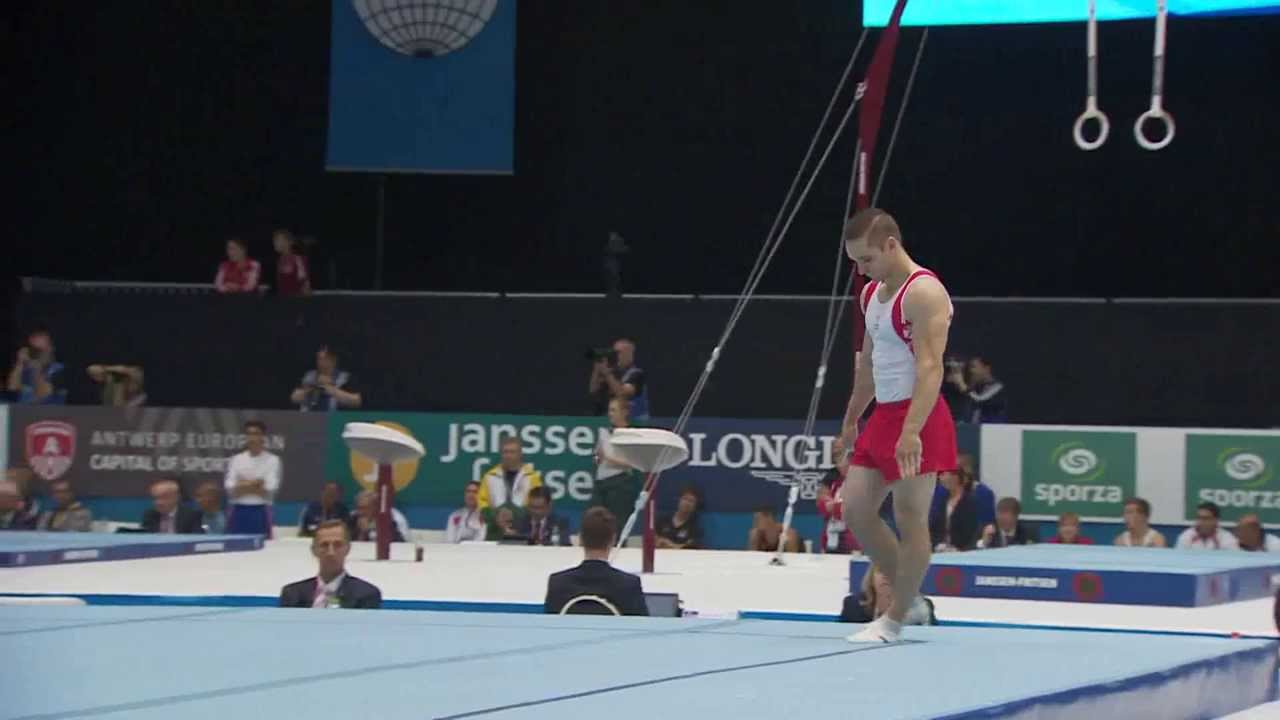 Scott Morgan  Floor Routine  Mens Qualification  2013