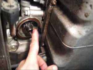 2001 Cadillac Deville Oil Change with a 32 Valve Northstar