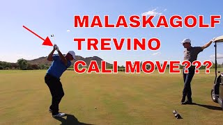 Malaska Changing to the Cali Move? Golf Instruction Course Vlog