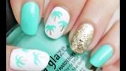 easy palm tree nail art