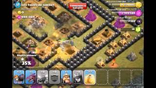 Clash of clans - Dernier niveau des villages gobelins / last level gobelins