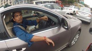 World's most stupid driver