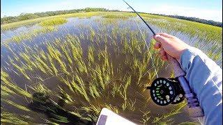 Fishing a FLOODED Saltwater Field! (My Bucketlist Catch)