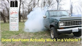 Seafoam-can't believe what it did to my engine!!