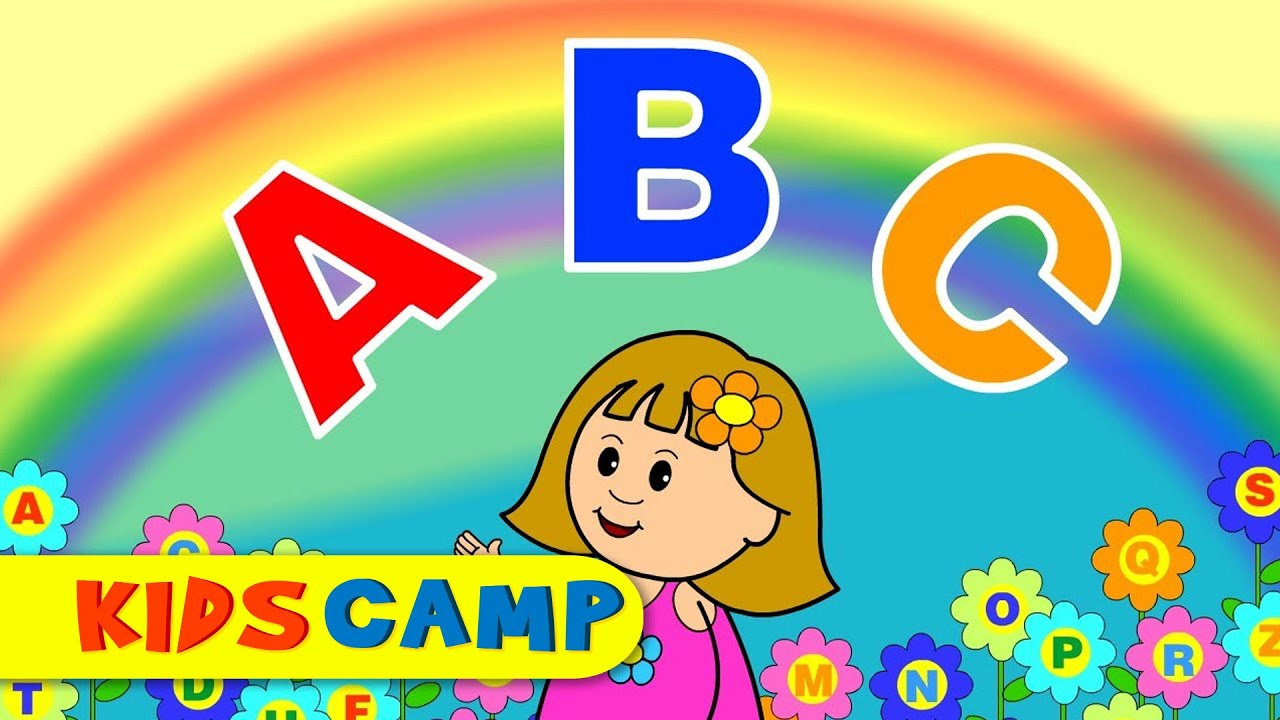 ABC Song | Nursery Rhymes | Popular Nursery Rhymes by KidsCamp - YouTube