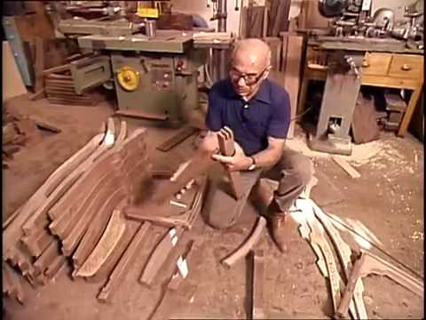 Sam Maloof And the chairs completed  YouTube
