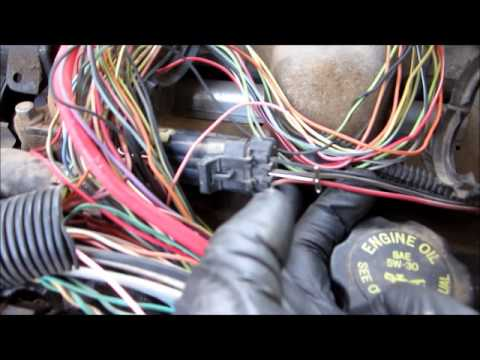 2005 Tracker Boat Wiring Schematic No Start No Injector Pulse Thanks Paul Danner Wmv Youtube