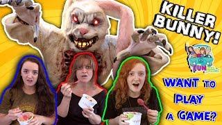 Download SCARY KILLER BUNNY IN THE WOODS REVENGE...PRANK!! Video