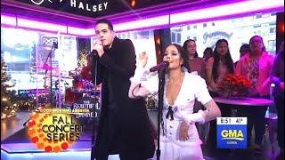 G-Eazy & Halsey Perform ″Him & I″ (GMA LIVE)