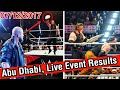 WWE Live Results - Abu Dhabi, UAE - 7 December 2017