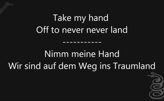 Metallica Enter Sandman Lyrics In English German