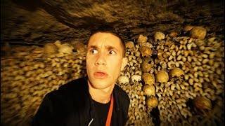EXPLORING THE SCARIEST PLACE IN PARIS! *MUST SEE*