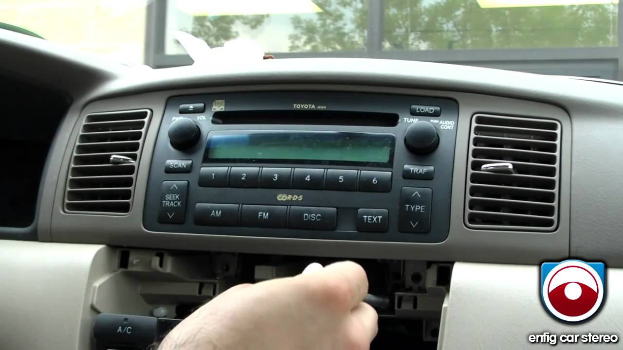 2004 Toyota Corolla Car Stereo Wiring Diagram