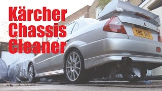 Kärcher Under Chassis Cleaner for the Evo 6 - Highly Recommended! - PerformanceCars
