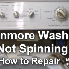 Kenmore 70 Series Washer Diagram 2001 Chevy Tahoe Radio Wiring Not Spinning - How To Troubleshoot And Repair Youtube