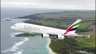 Drone Nearly COLLIDES With Departing A380 Jumbo Jet