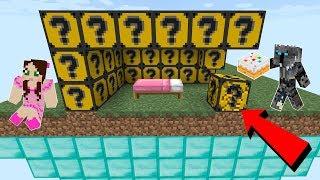Minecraft: CAKE LUCKY BLOCK BEDWARS! - Modded Mini-Game