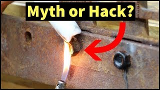 Candle Wax to Loosen Rusty Nuts a Myth or Hack? Let's find out!