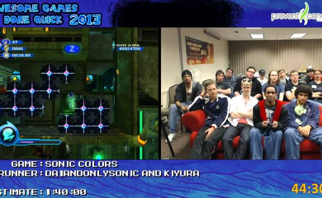 Sonic Colors Speed Run Live In 54 52 By Da1andonlysonic