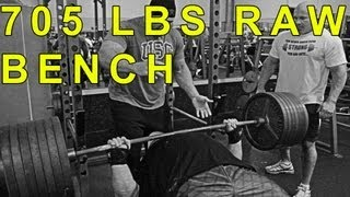 Eric Spoto 705 RAW Bench! Stan Efferding 545 x 2! EVERY SET | ProvingItDVD