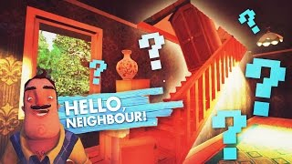 CAN WE GLITCH TO THE 3RD FLOOR?! (Hello Neighbor / Hello Neighbour Gameplay)