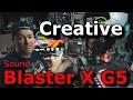 Creative Sound BlasterX G5 7.1 Headphone Surround HD Audio External Sound Card DAC / AMP