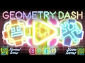 NEON RAINBOW TEXTURE PACK | Geometry Dash 2.1 | Android & Steam