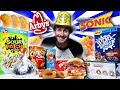 THE NEW YEARS CARB COLLECTION CHALLENGE! (10,000+ CALORIES)