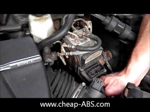 Buick Lesabre Ecm Wiring Diagram Pontiac Grand Prix Abs Module Removal Youtube