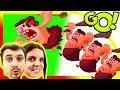 ТРОГЛОДИТЫ ОХОТЯТСЯ за Динозаврами БолтушкИ и ПРоХоДиМЦа! #434 Мультик ИГРА - Dino Bash