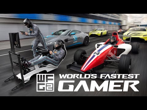 Today marks the launch of World's Fastest Gamer season two – bringing together ten of the fastest esports racers on the planet to battle it out to win a year racing for real at some of the world's most iconic circuits with leading race team, R-Motorsport, a strategic partner of Aston Martin