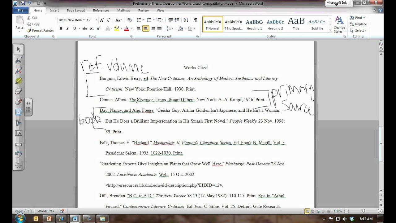 Essay Works Cited Mla 8 Works Cited Entries Mla Works Cited