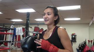 Pretty Filipina Working On Being A Boxing Star EsNews Boxing