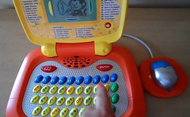 Worlds Best Vtech Toy Laptop Learn Letters Phonics Maths