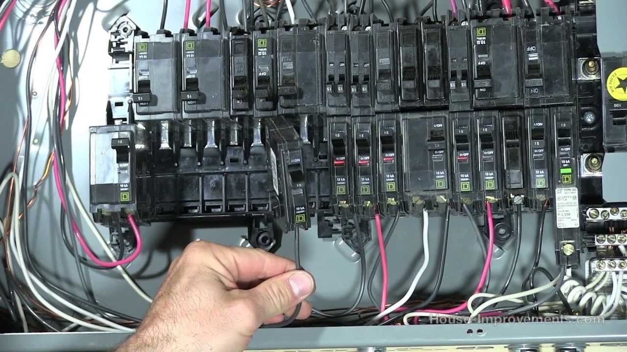 110 volt electrical wiring diagram low voltage how to add a 120v 240v circuit breaker - youtube