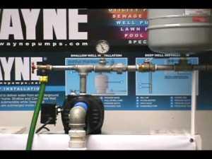 Wayne shallow well jet operation  YouTube