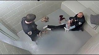 WARNING GRAPHIC: Surveillance of Cassandra Feuerstein's Arrest