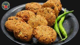मूंगफली से बनाये कुरकुरा नाश्ता - Kurkure Groundnuts Tikle - Seemas Smart Kitchen