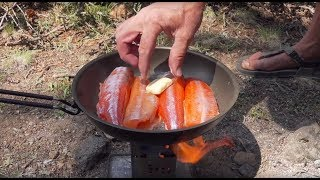 11K Camping Remote Wilderness Lakes For Firebox Stove Trout