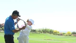 Mike Malaska Live Lesson - Downswing Theory with Monica