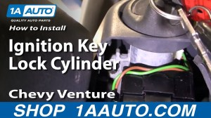 How To Install Replace Ignition Key Lock Cylinder Chevy