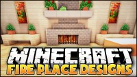 Minecraft: Fireplace Designs & Ideas - YouTube