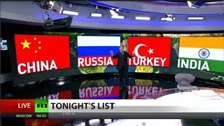 Will Russia, China, Turkey and India drop the dollar?
