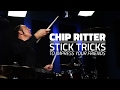 Stick Trick To Impress Your Friends with Chip Ritter - Drum Lesson (Drumeo)