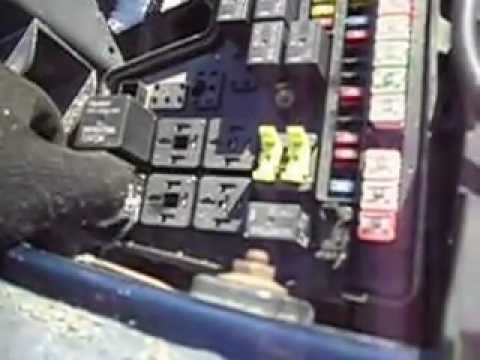 Cherokee Fuse Junction Box Location 2003 Ram Fuse Box Relay 73 Youtube