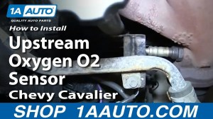 How To Install Replace Front Upstream Oxygen O2 Sensor