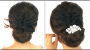 5min easiest party updo everyday