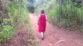 Walk from Unawatuna Beach to Jungle Beach, Sri Lanka